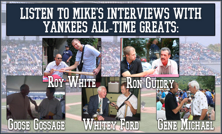 Mike Lindsley Interviews Yankees All-Time Greats!